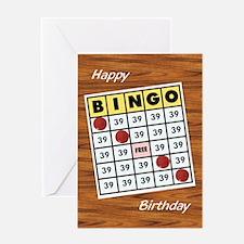 Bingo - Birthday Card