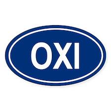 OXI Oval Bumper Stickers