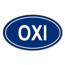 OXI Oval Decal