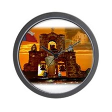 A Taste of San Antonio Wall Clock