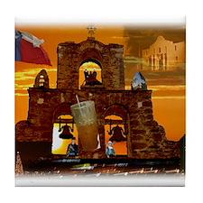 A Taste of San Antonio Tile Coaster