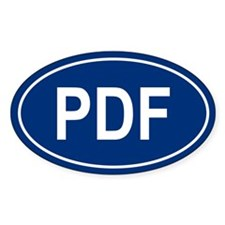PDF Oval Decal