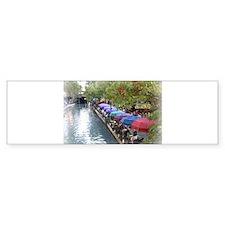 Riverwalk Bumper Bumper Sticker