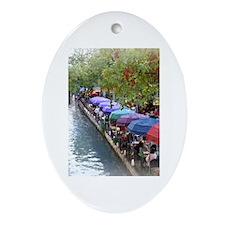Riverwalk Oval Ornament