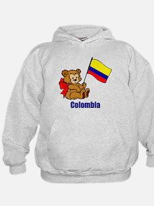 Colombia Teddy Bear Hoodie