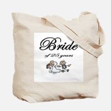 20th Wedding Anniversary Groom Tote Bag