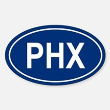 PHX Oval Decal