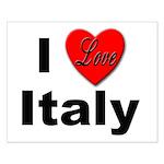 I Love Italy for Italian Lovers Small Poster