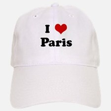 I Love Paris Baseball Baseball Cap
