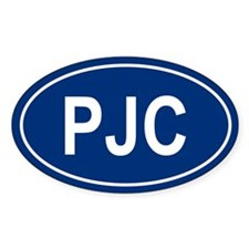 PJC Oval Decal