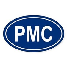 PMC Oval Bumper Stickers