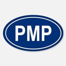 PMP Oval Decal