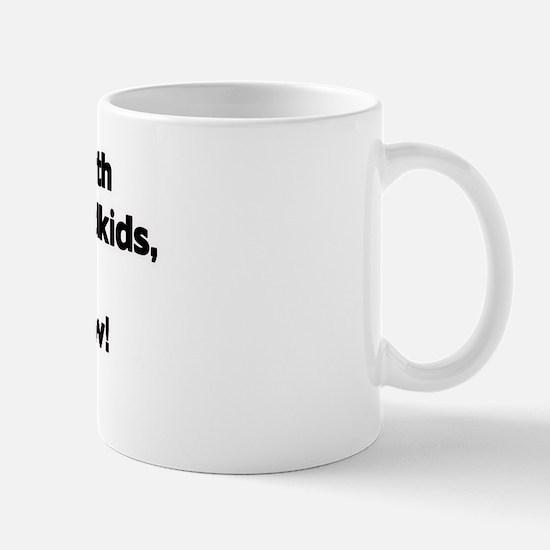 Don't Mess with Memaw's Grandkids! Mug
