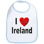 I Love Ireland for Irish Lovers Bib