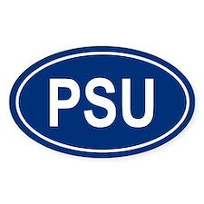 PSU Oval Bumper Stickers