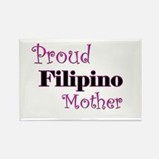 Proud Filipino Mother Rectangle Magnet