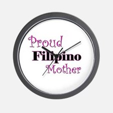 Proud Filipino Mother Wall Clock