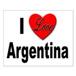 I Love Argentina Small Poster