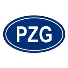 3-PZG Oval Decal