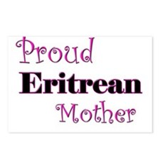Proud Eritrean Mother Postcards (Package of 8)