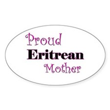 Proud Eritrean Mother Oval Decal