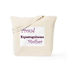 Proud Equatoguinean Mother Tote Bag