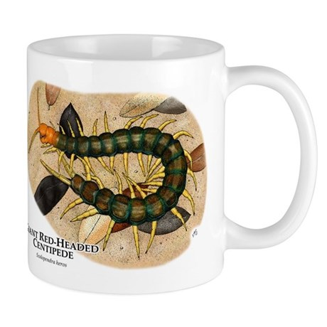 Giant Red-Headed Centipede Mug