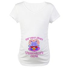 First Valentine's Day Hippo Shirt