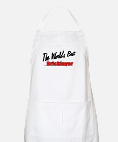 """The World's Best Bricklayer"" BBQ Apron"