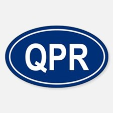 QPR Oval Decal