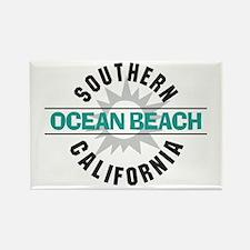 Ocean Beach California Rectangle Magnet