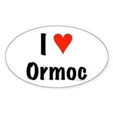 I love Ormoc Oval Decal