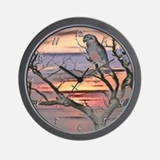 Artwork Dusky Pionus Clock
