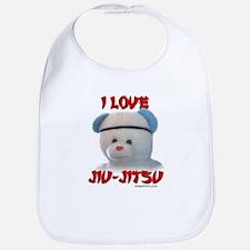 I LOVE JIU-JITSU (TEDDY BEAR) Bib