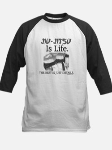 JIU-JITSU Is Life. Kids Baseball Jersey