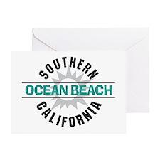 Ocean Beach California Greeting Card