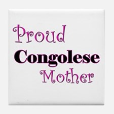 Proud Congolese Mother Tile Coaster