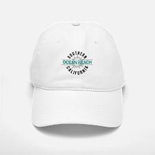 Ocean Beach California Baseball Baseball Cap