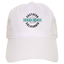Ocean Beach California Baseball Cap