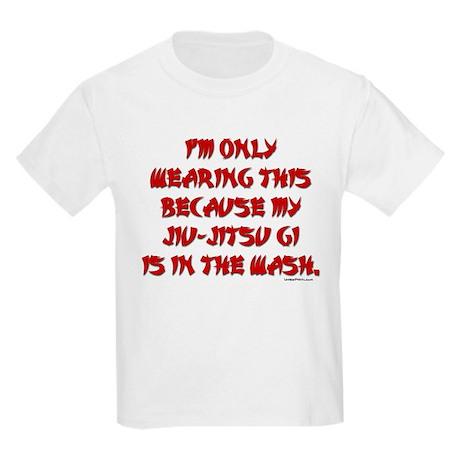 MY JIU-JITSU GI IS IN THE WAS Kids Light T-Shirt