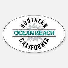Ocean Beach California Decal