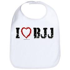 I (HEART) BJJ Bib