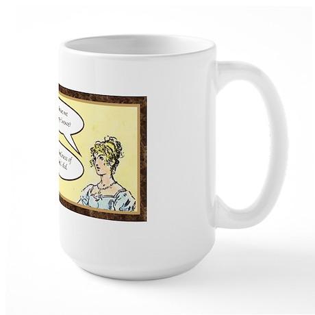 Jane Austen Pride and Prejudice Large Mug