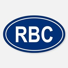 RBC Oval Decal