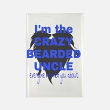 Crazy Bearded Uncle Magnets