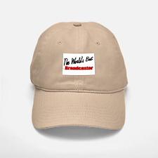"""""""The World's Best Broadcaster"""" Baseball Baseball Cap"""
