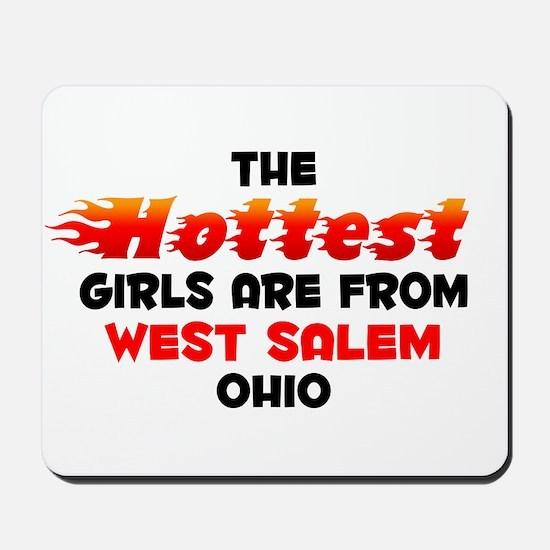 Hot Girls: West Salem, OH Mousepad