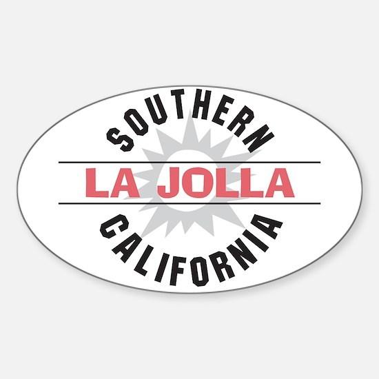 La Jolla Califronia Sticker (Oval)