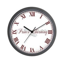 Waiting For My Own Prince Charming Wall Clock
