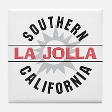 La Jolla Califronia Tile Coaster